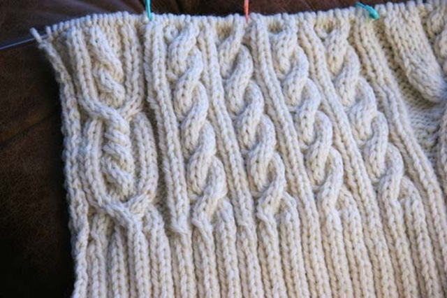 Aran Cable Pattern   Catalog of Patterns